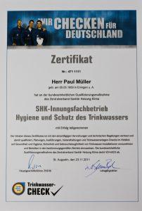 SHK Innungsfachbetrieb Sanitär und Heizungsbau